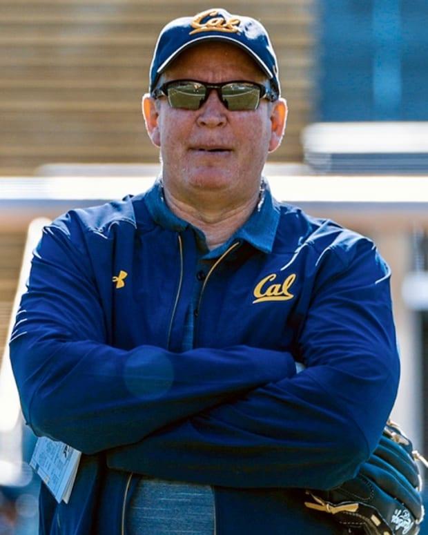 Cal offensive coordinator Bill Musgrave