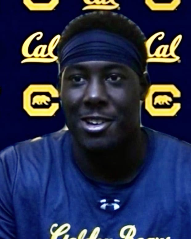 Cal freshman tight end Jermaine Terry