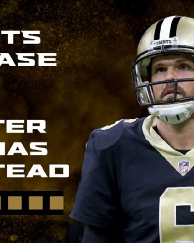 New Orleans Saints Cut Morstead