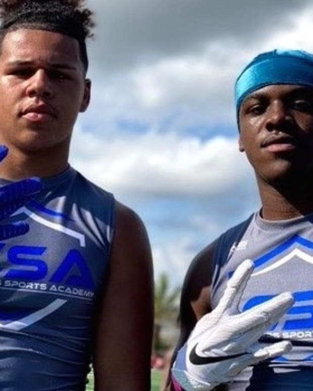 Germie Bernard, at right is still UW bound, while Anthony Jones has de-committed.