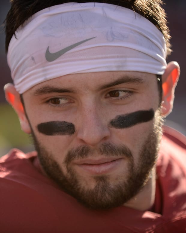 Baker Mayfield - closeup