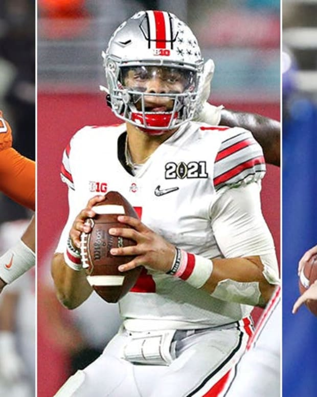 Trevor Lawrence, Justin Fields, Zach Wilson