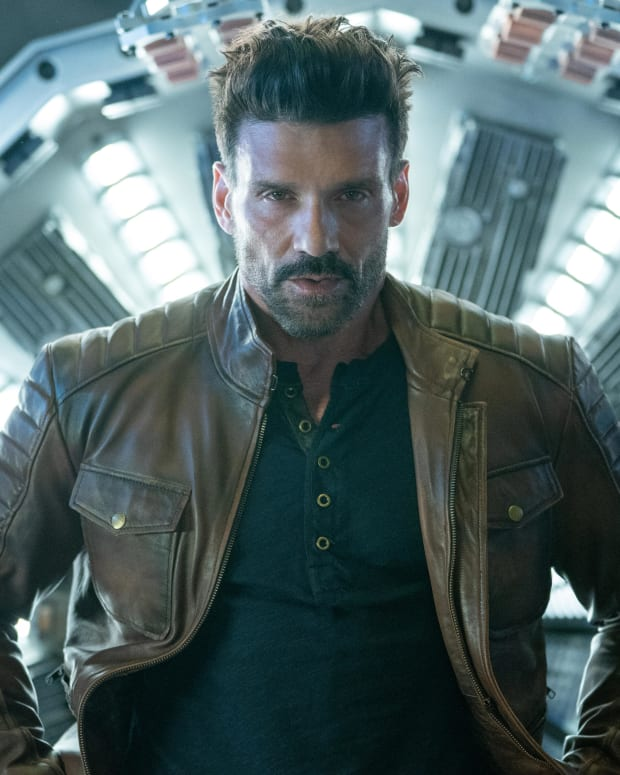 Actor Frank Grillo in Boss Level