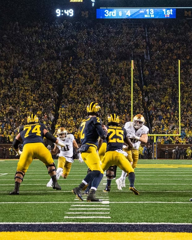 Michigan Notre Dame Under The Lights