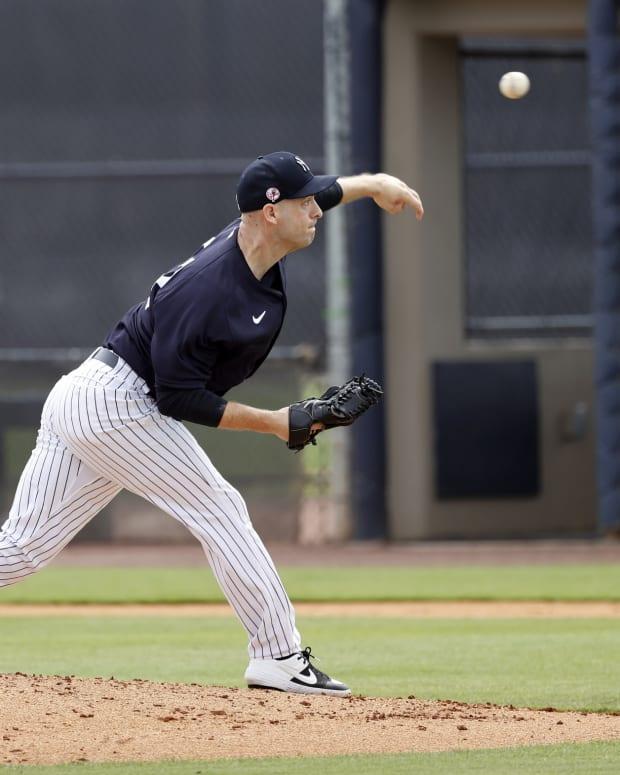 Yankees left-hander Lucas Luetge