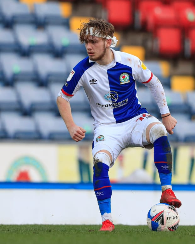 Harvey Elliott Liverpool Blackburn