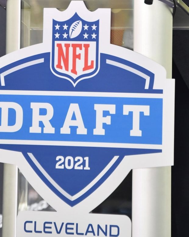 The 2021 NFL Draft logo.