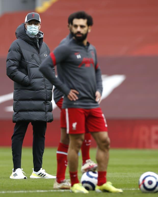 Mohamed Salah Jurgen Klopp