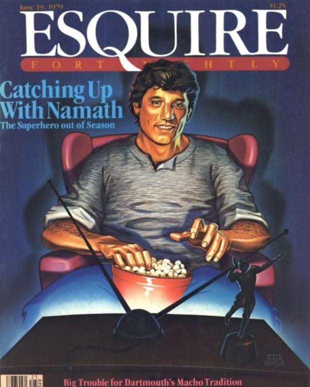 June 19, 1979, Esquire: Catching up with Namath