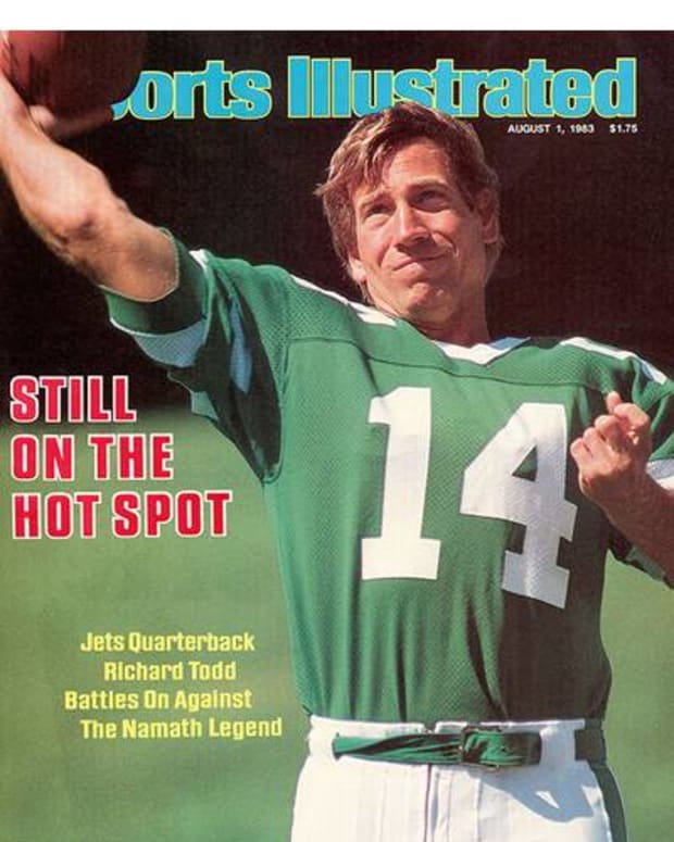 Richard Todd cover Sports Illustrated, Aug. 1, 1983