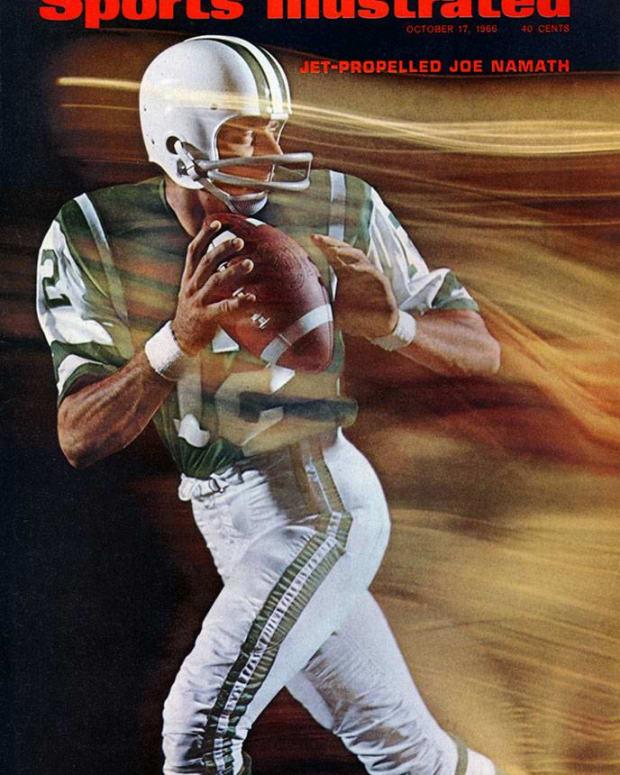 Sports Illustrated cover, Joe Namath, Oct. 17, 1966