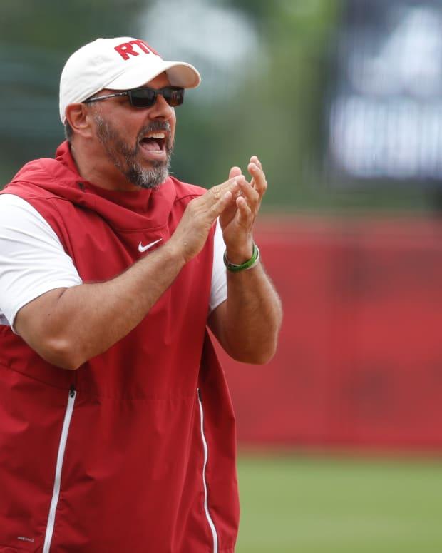 Alabama softball coach Patrick Murphy