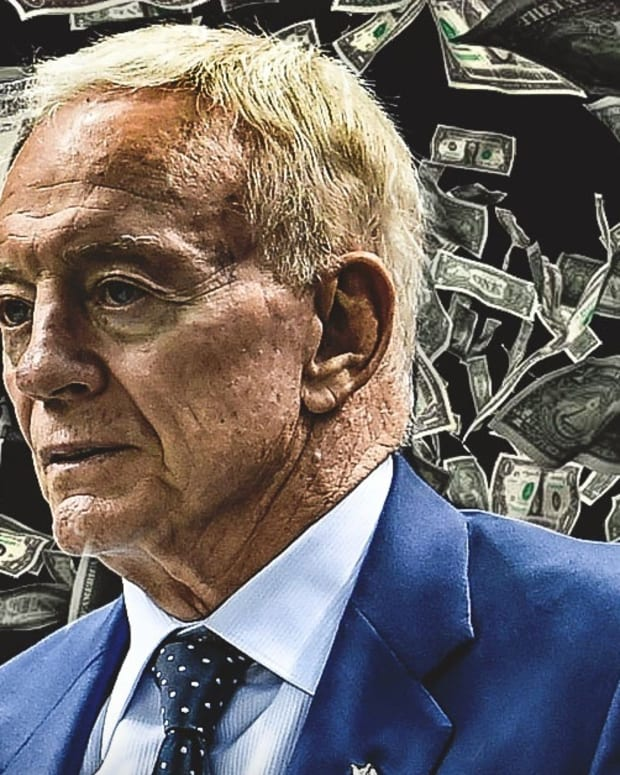 Jerry Jones money