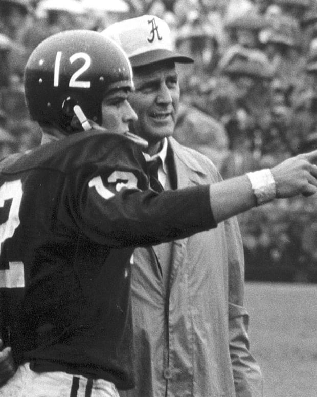 "Pat Trammell and Paul W. ""Bear"" Bryant"