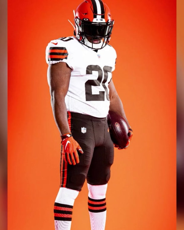 Cleveland Browns Unveil Highly Anticipated Uniforms