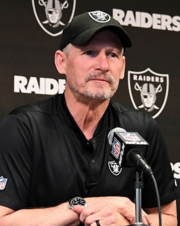 Mike Mayock, Raiders by Kirby Lee, USA TODAY Sports