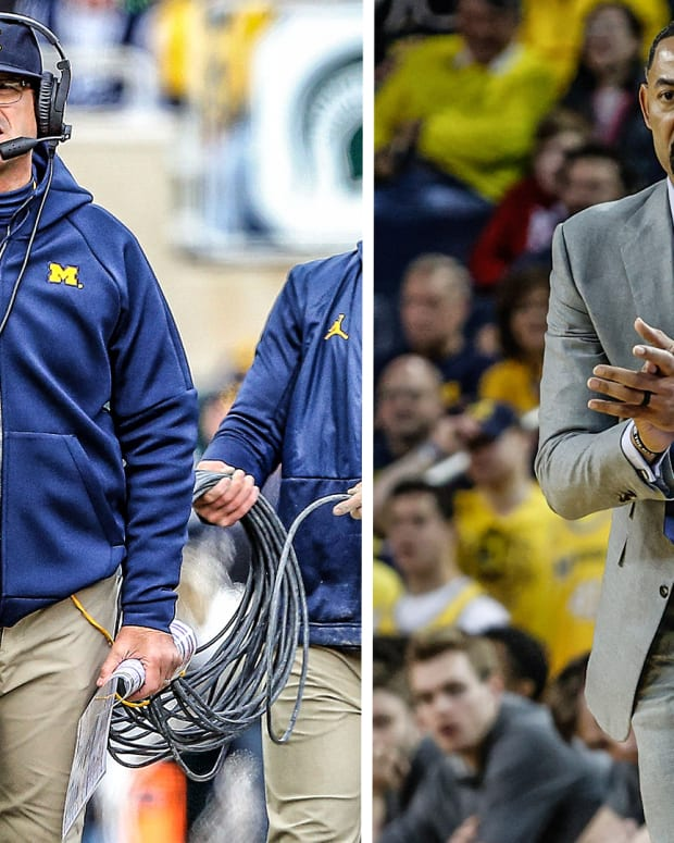 Jim Harbaugh Juwan Howard