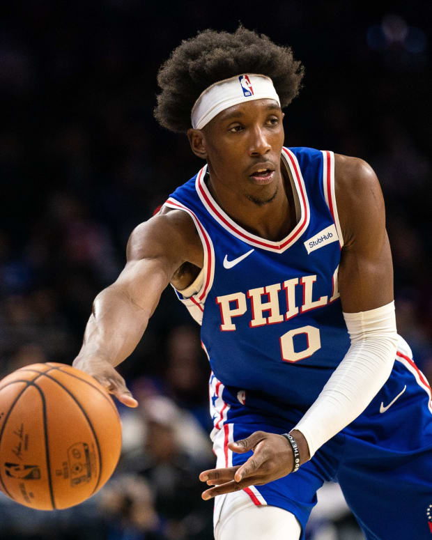 Philadelphia 76ers veteran guard Josh Richardson.