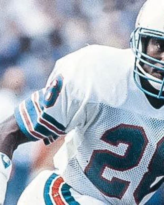 Don McNeal with the Miami Dolphins