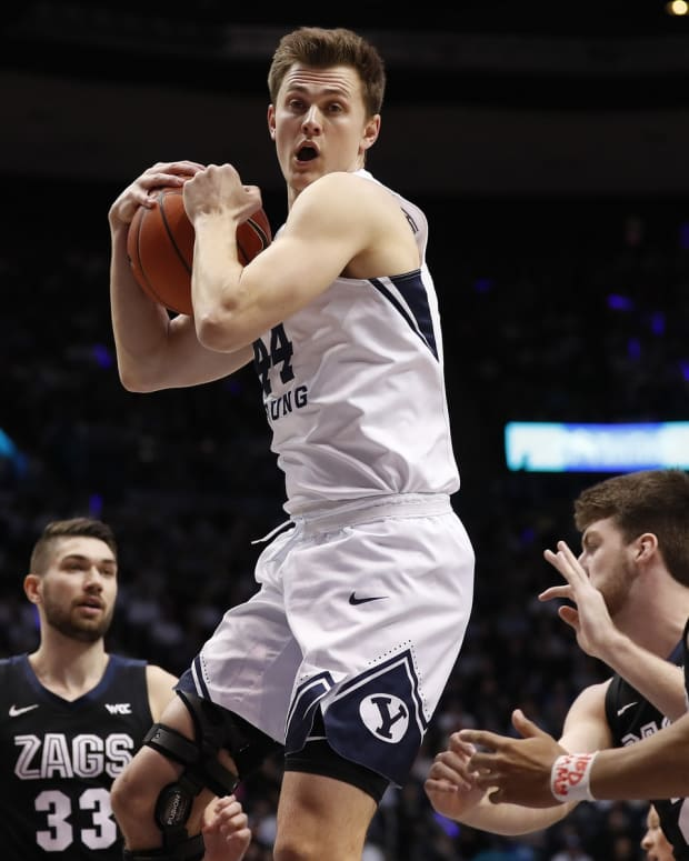 Connor Harding BYU Basketball Gonzaga Basketball