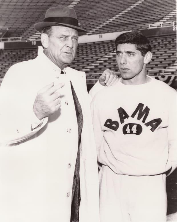 Bear Bryant and Joe Namath