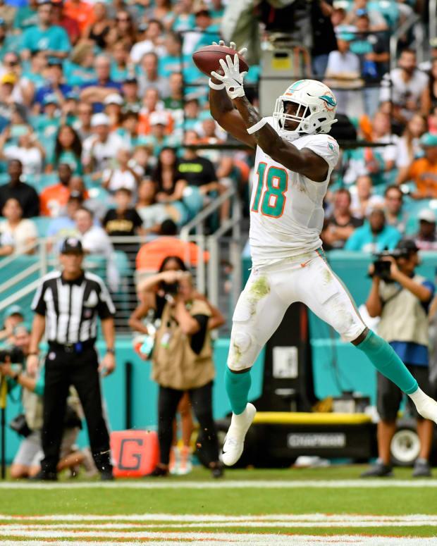 Wide receiver Preston Williams