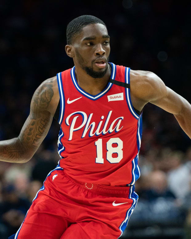 Sixers' Shake Milton speaks up after death of George Floyd.