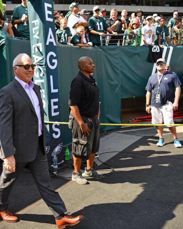 Eagles owner Jeffrey Lurie issued a statement on the events of the last several days