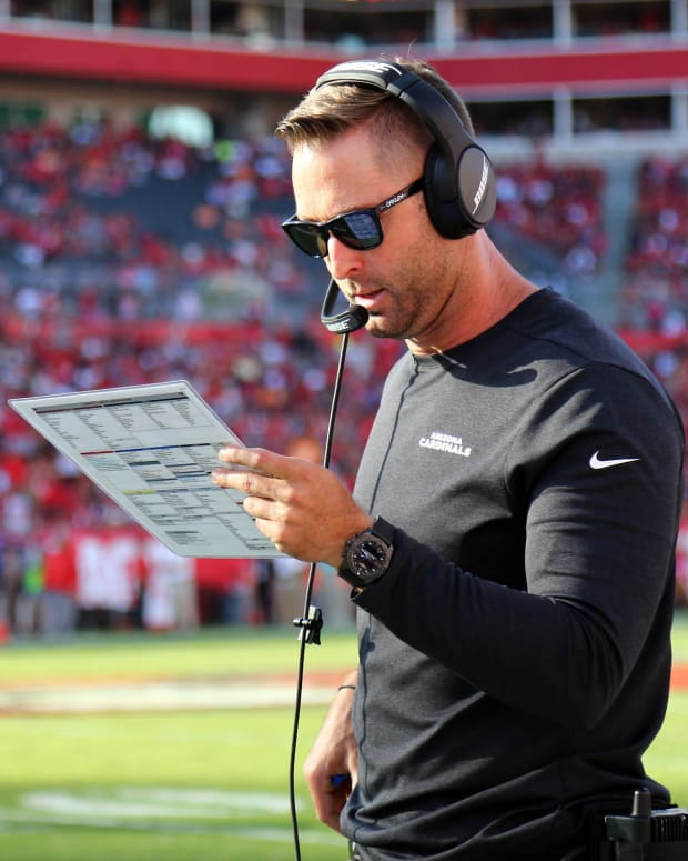 Arizona Cardinals head coach Kliff Kingsbury