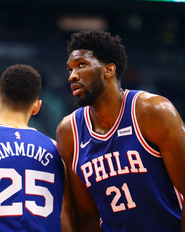 76ers' Joel Embiid and Ben Simmons