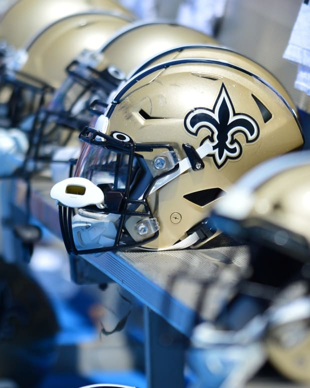 New Orleans Saints Helmets