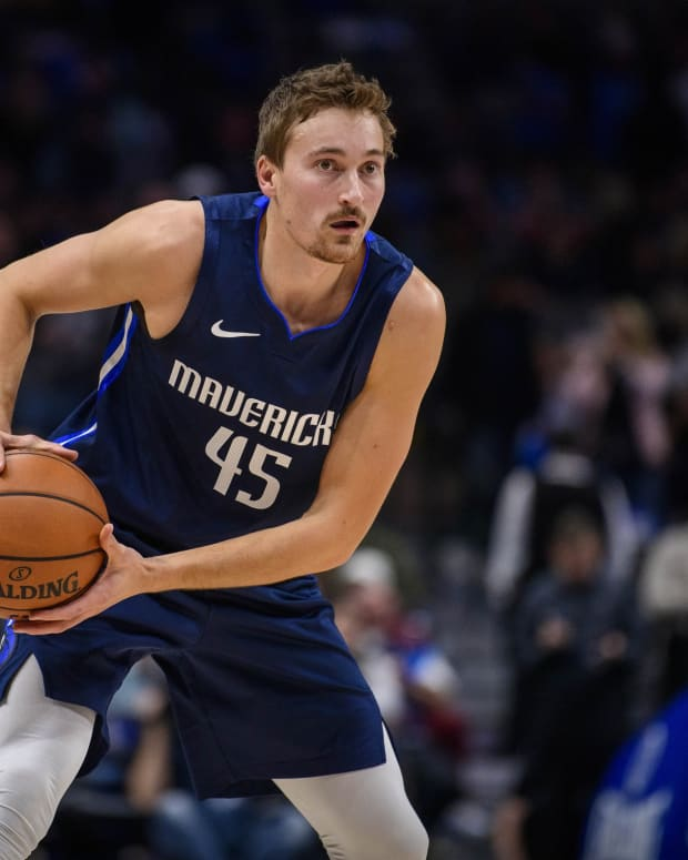 Philadelphia 76ers newest wing, Ryan Broekhoff.