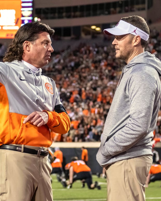 Lincoln Riley - Mike Gundy