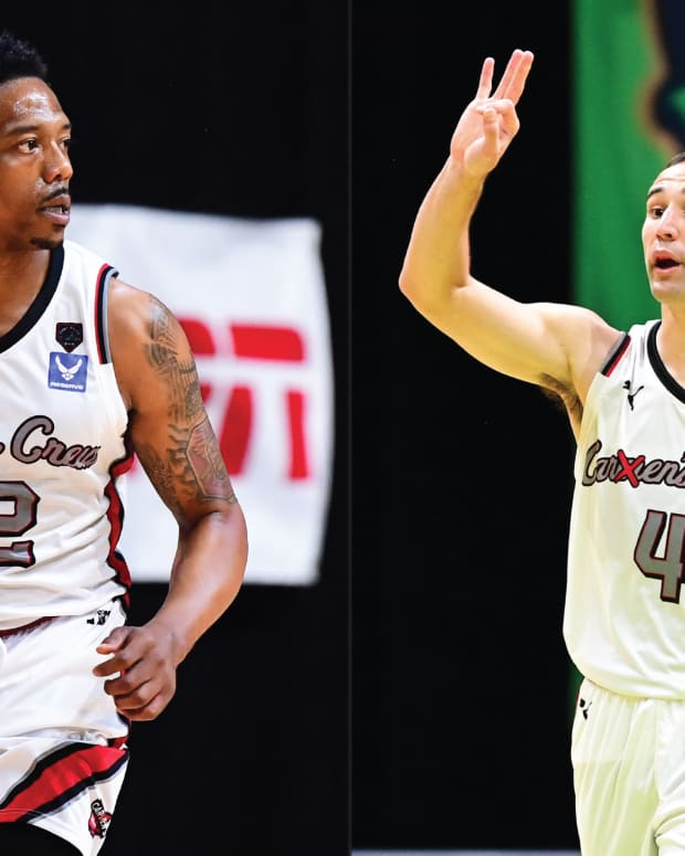 Lenzelle Smith Jr. and Aaron Craft