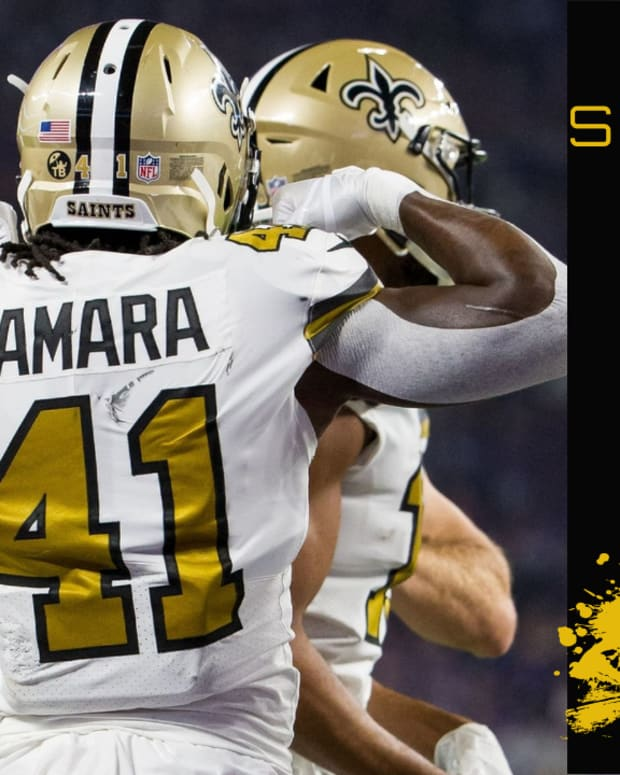 Top 25 Saints of 2020 #3 Kamara