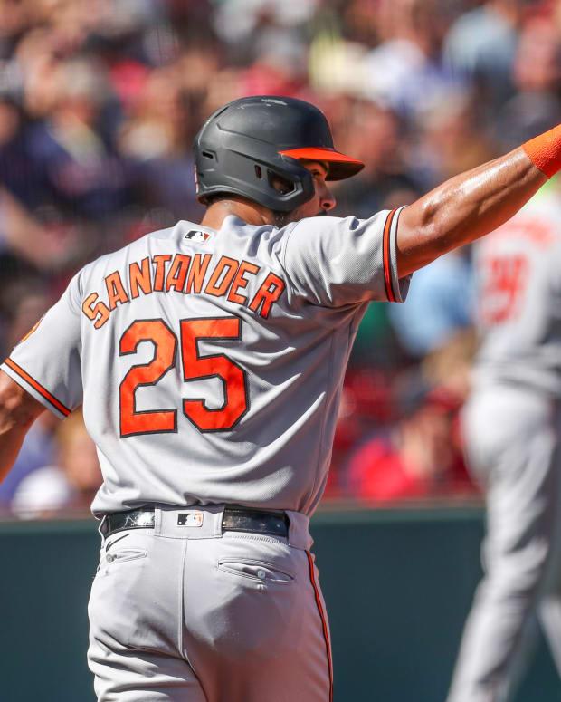 Baltimore Orioles Anthony Santander
