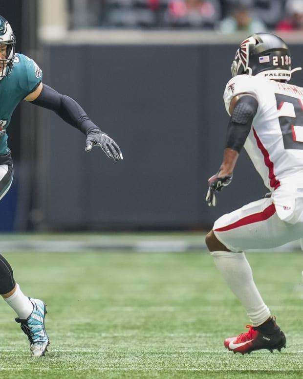 Zach Ertz vs. Falcons