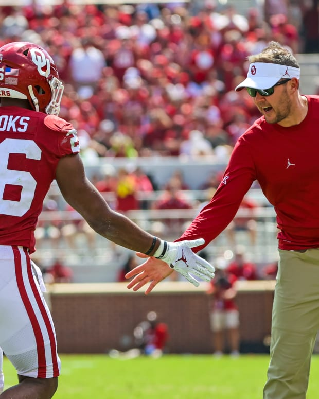 Lincoln Riley, Kennedy Brooks
