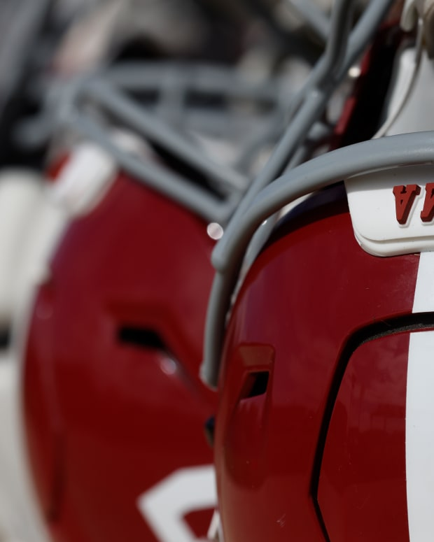 Generic practice helmets photo