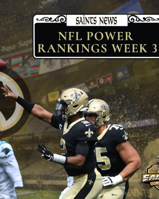 NFL Power Rankings Week 3