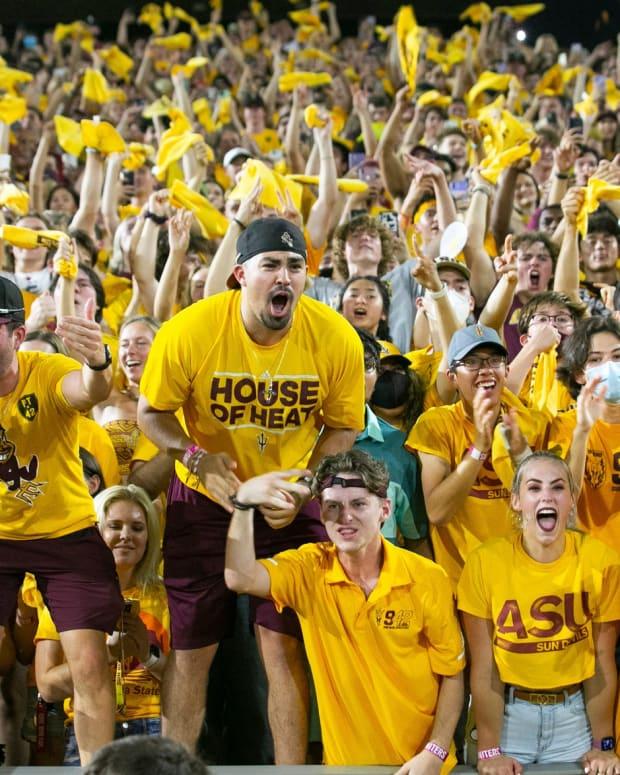 ASU Student Section