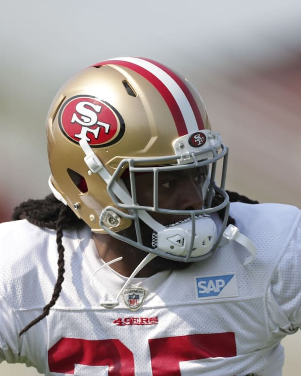 Former San Francisco 49ers cornerback Richard Sherman.