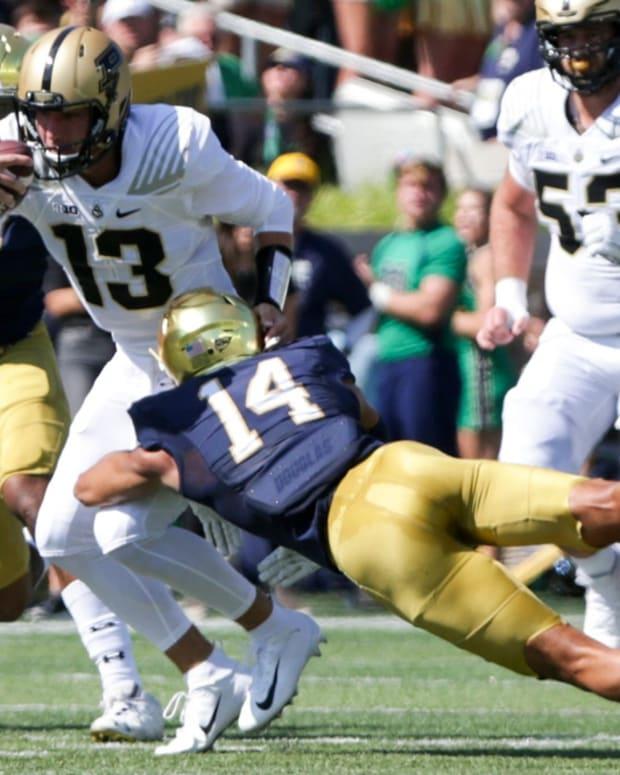 Jack Plummer vs Notre Dame