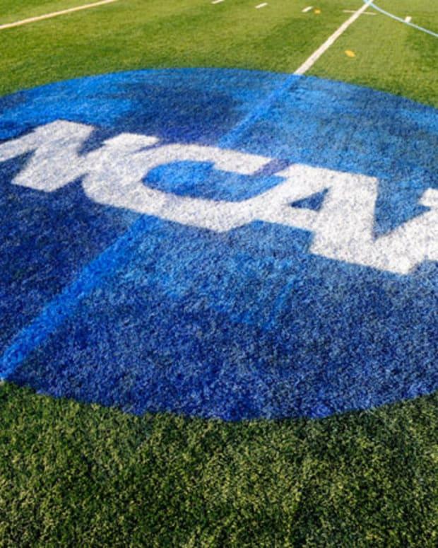 NCAA Football Field Logo