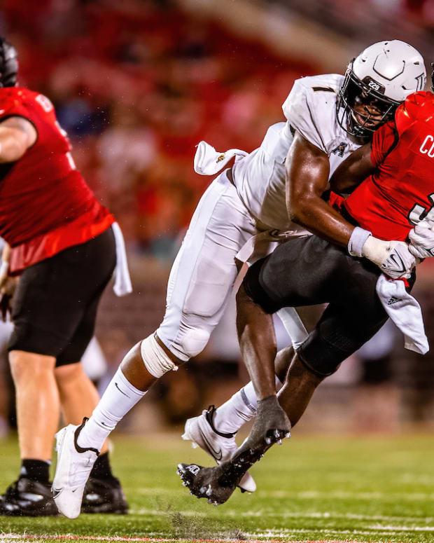 Big Kat Bryant hitting Cunningham