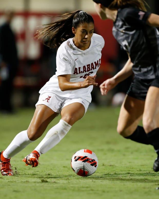 Reyna Reyes, Alabama soccer