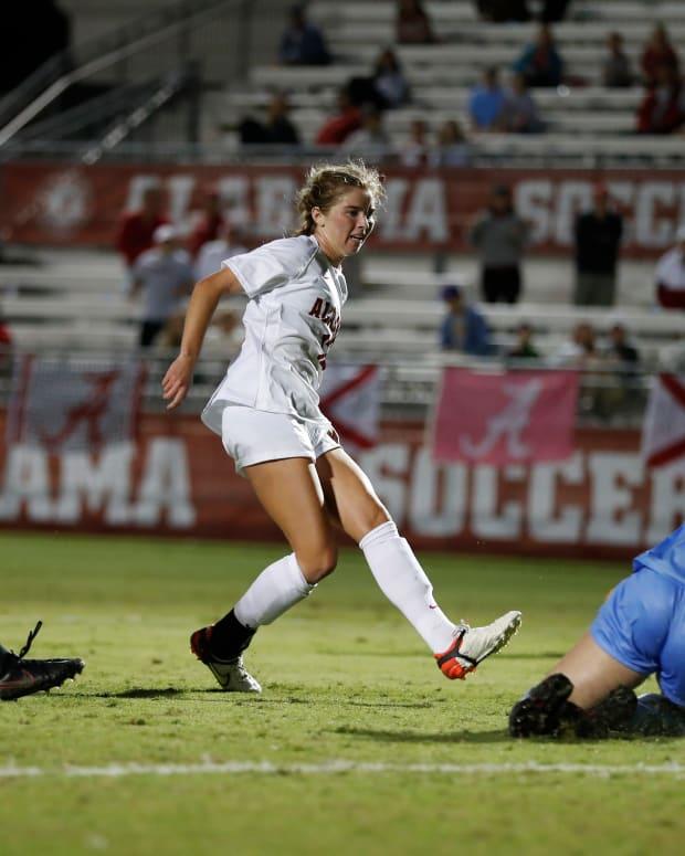 Riley Tanner, Alabama soccer