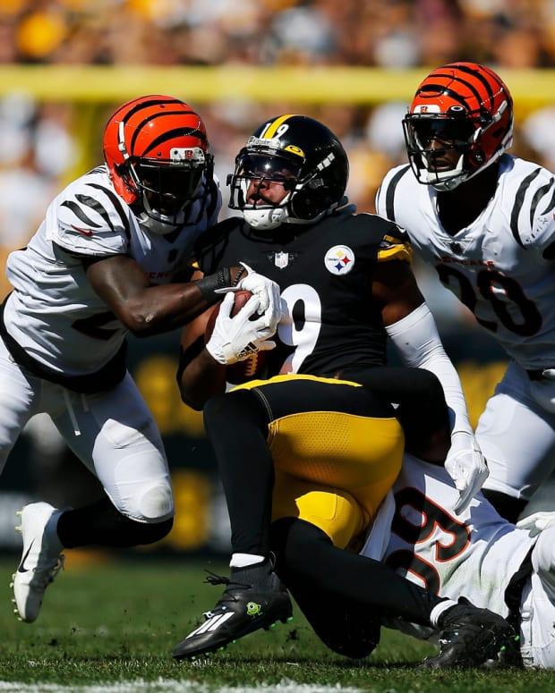 JuJu Smith Schuster, Cincinnati Bengals, Pittsburgh Steelers