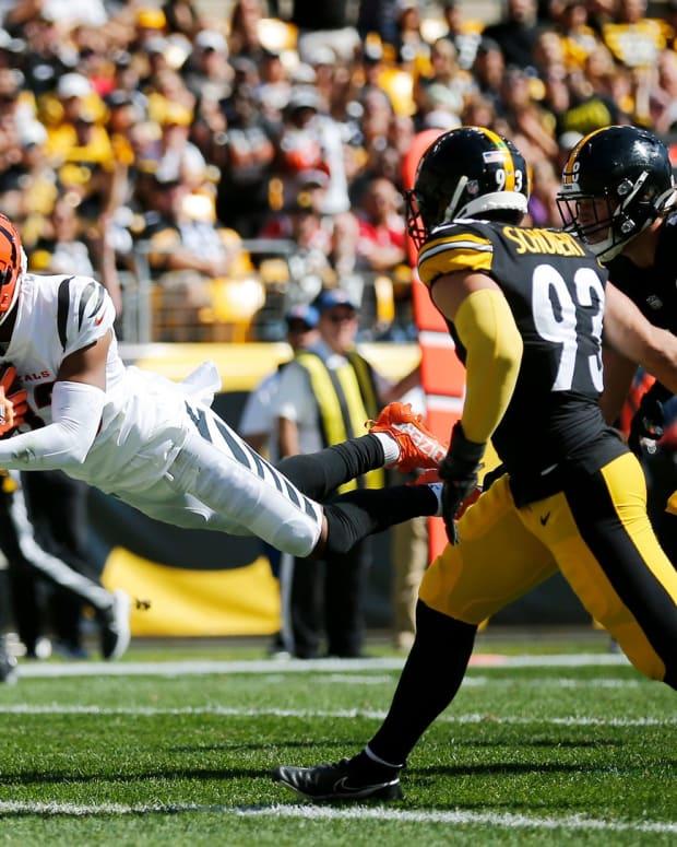 Tyler Boyd, Steelers