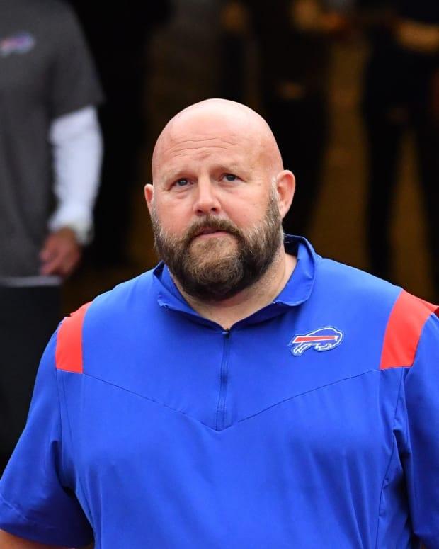 Bills offensive coordinator Brian Daboll.